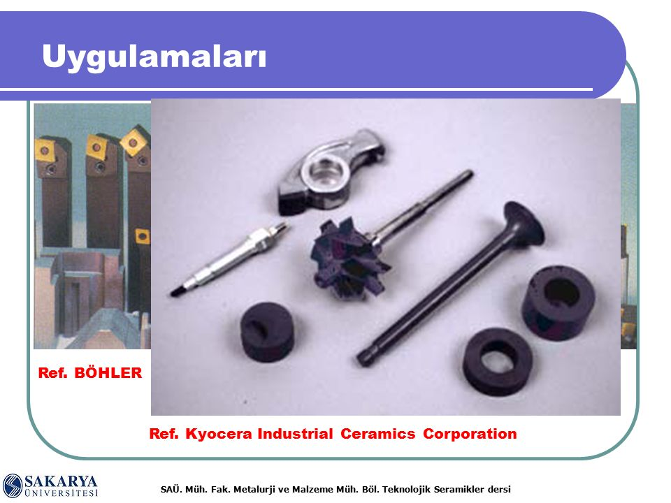 Ref. Kyocera Industrial Ceramics Corporation