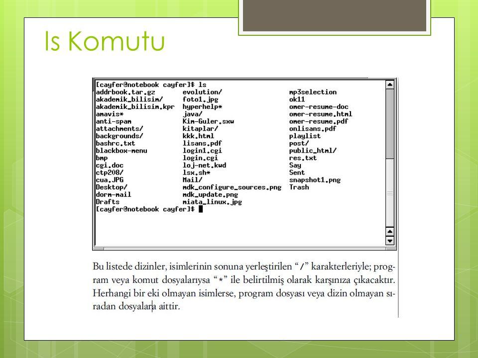 ls Komutu
