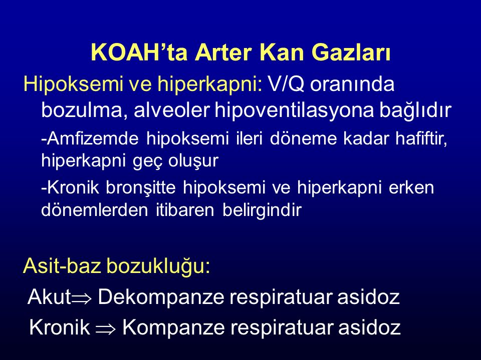 Parankim: İnterstisyum ve alveoler inflamasyon. Amfizem (sentriasiner, paraasiner, paraseptal) Küçük havayollarında parankim destek kaybı.