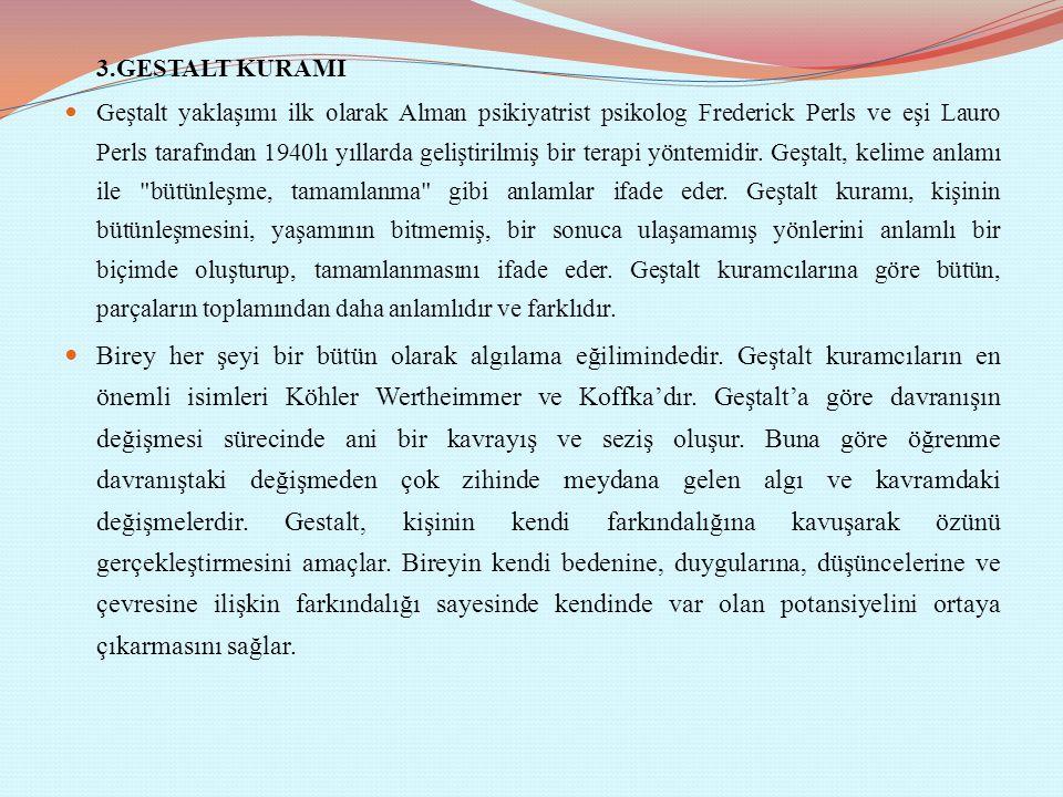 3.GESTALT KURAMI