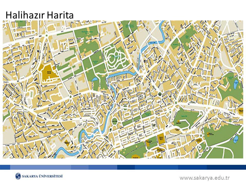 Halihazır Harita www.sakarya.edu.tr