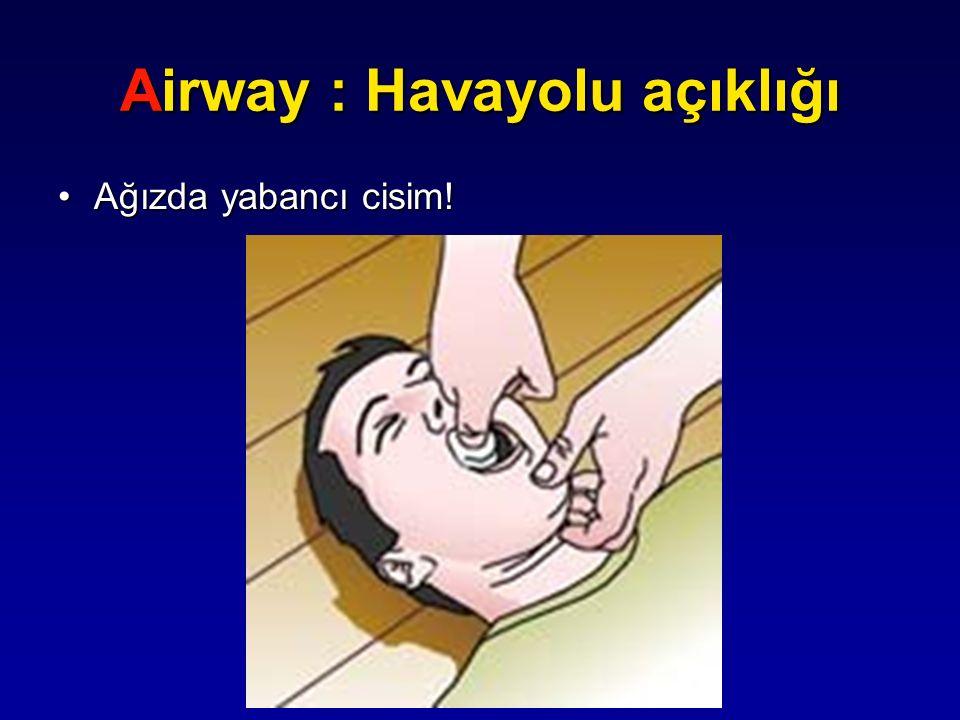 Airway : Havayolu açıklığı
