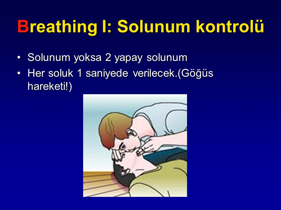 Breathing I: Solunum kontrolü
