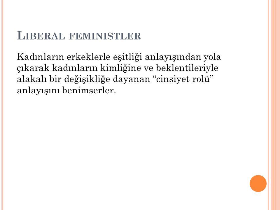 Liberal feministler