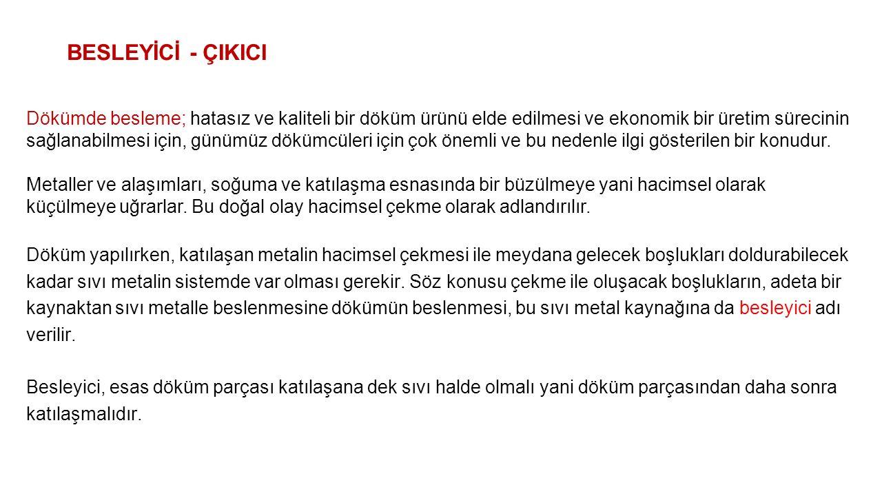 BESLEYİCİ - ÇIKICI