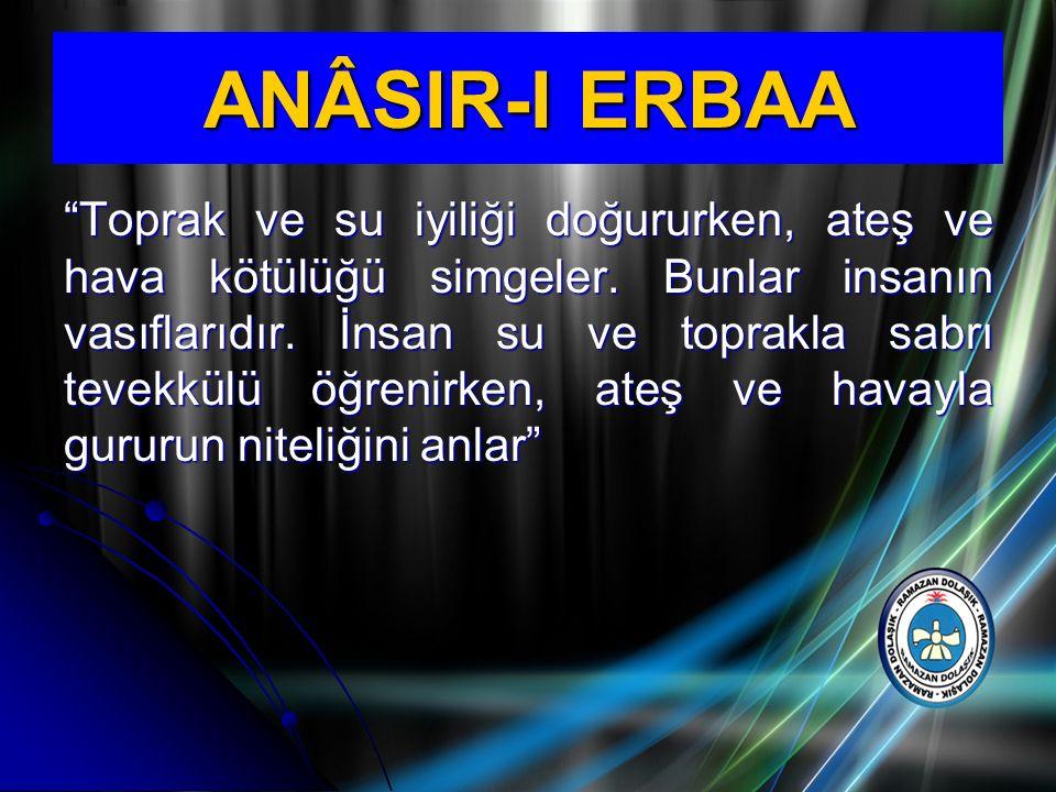 ANÂSIR-I ERBAA