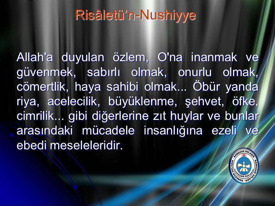 Risâletü'n-Nushiyye