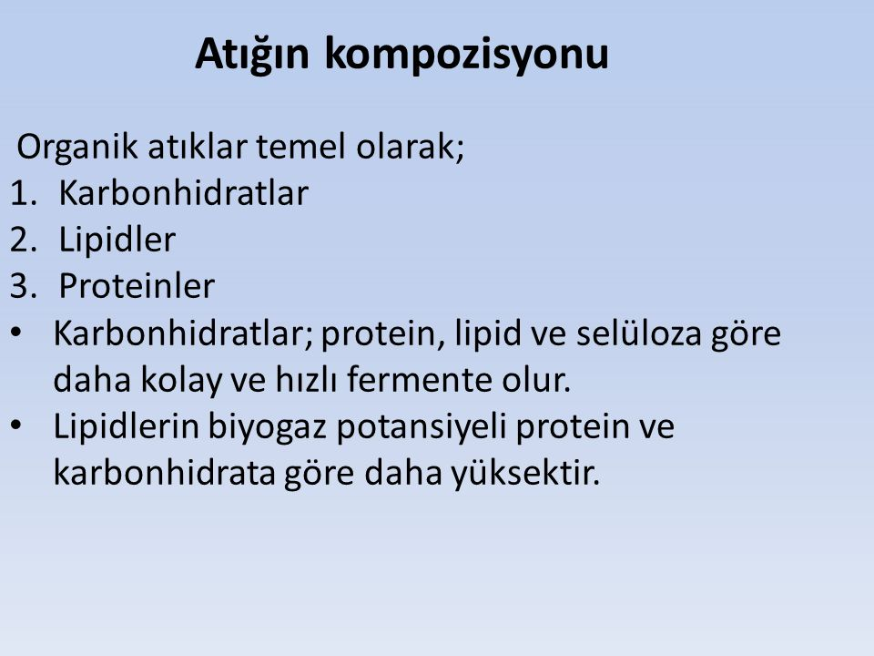 Karbonhidratlar Lipidler Proteinler