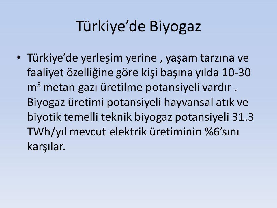 Türkiye'de Biyogaz
