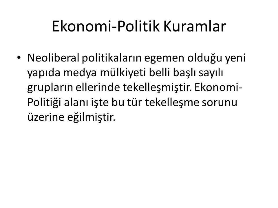 Ekonomi-Politik Kuramlar