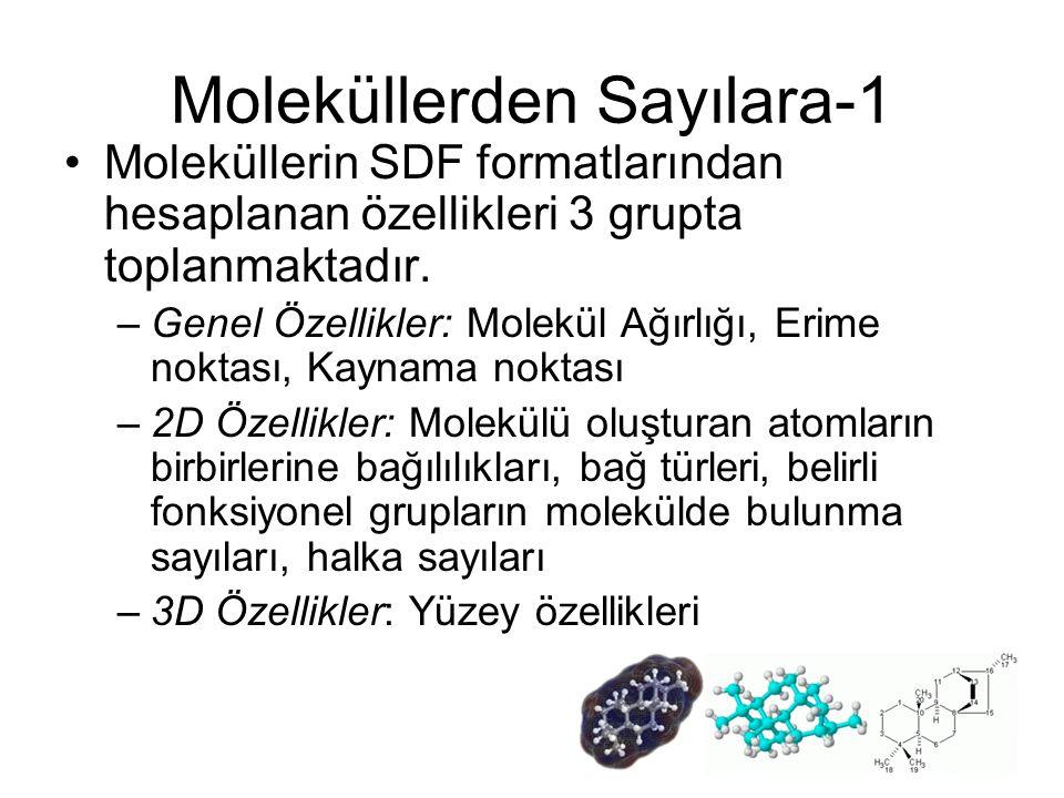 Moleküllerden Sayılara-1
