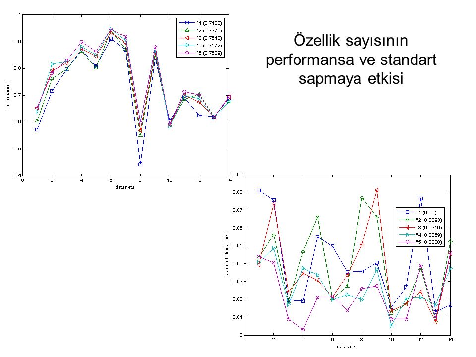 performansa ve standart sapmaya etkisi