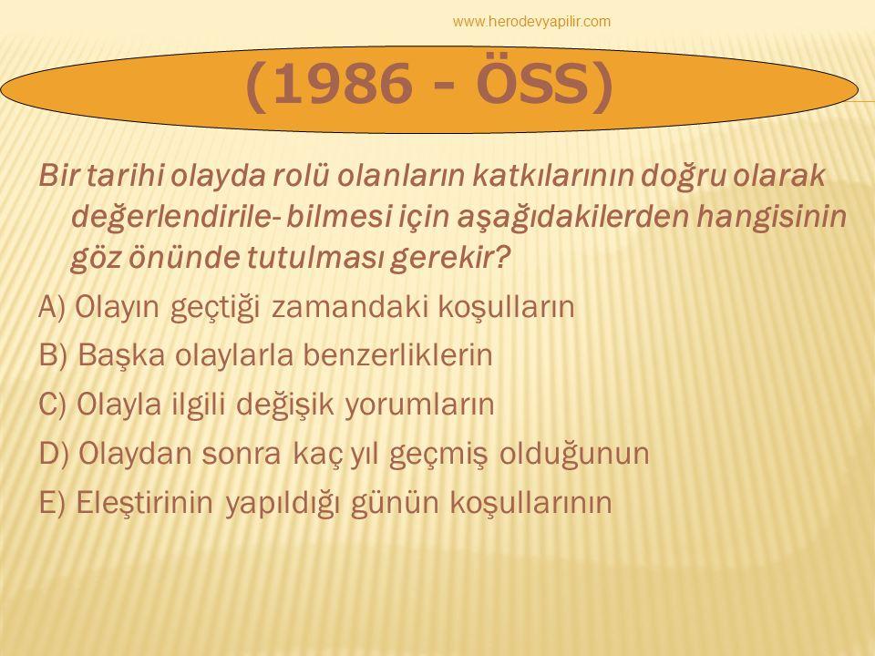www.herodevyapilir.com (1986 - ÖSS)