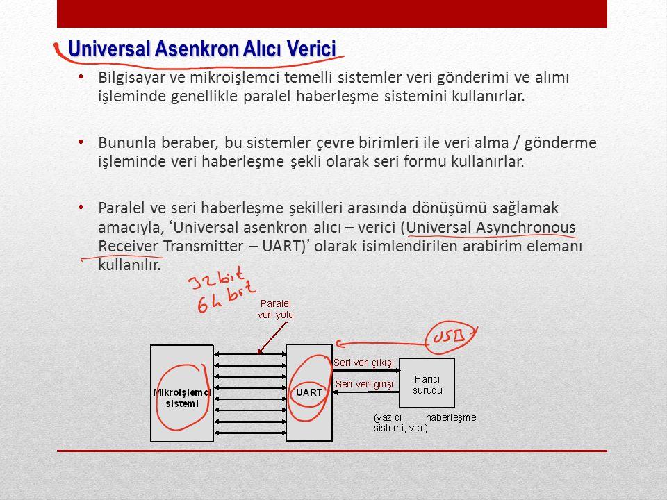 Universal Asenkron Alıcı Verici