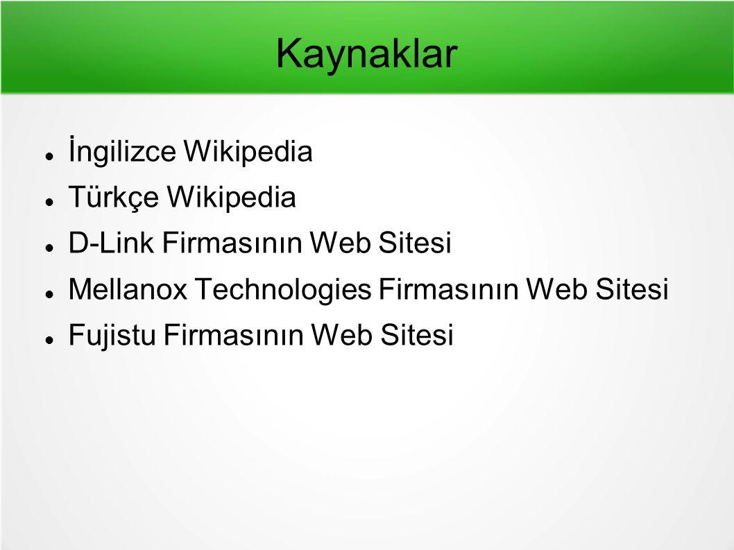 Kaynaklar İngilizce Wikipedia Türkçe Wikipedia