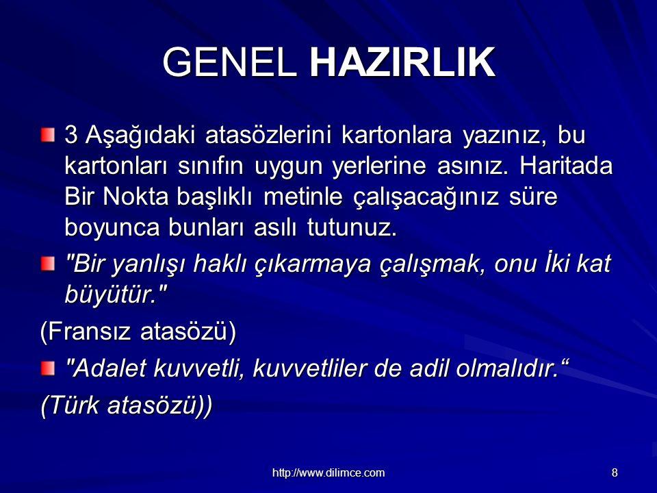 GENEL HAZIRLIK