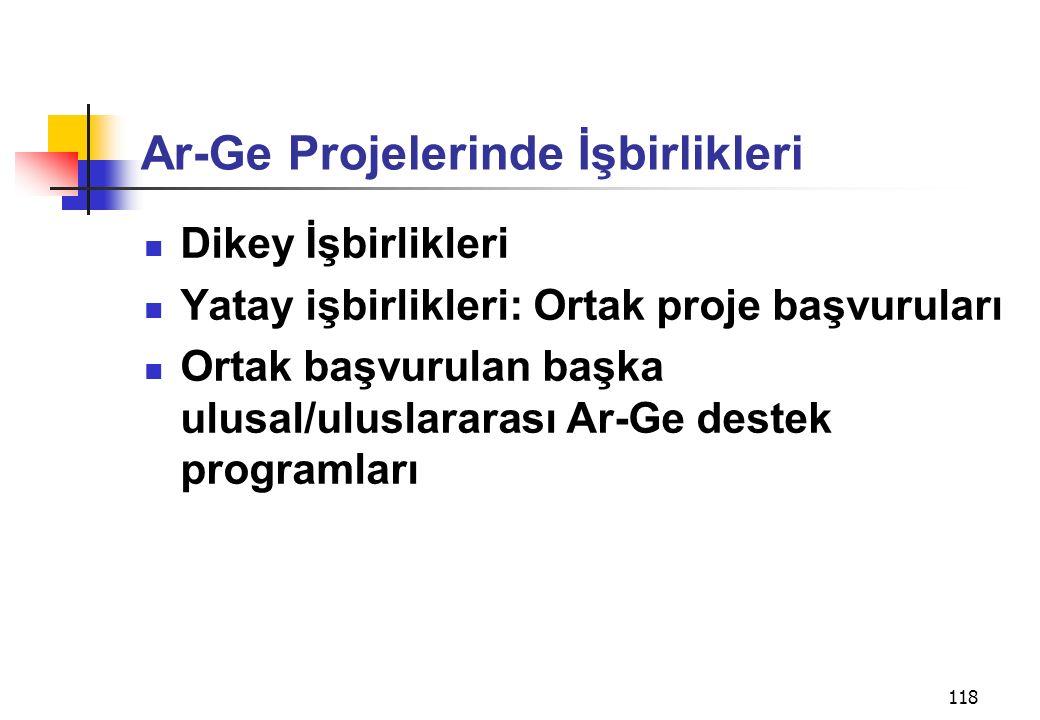 Ar-Ge Projelerinde İşbirlikleri
