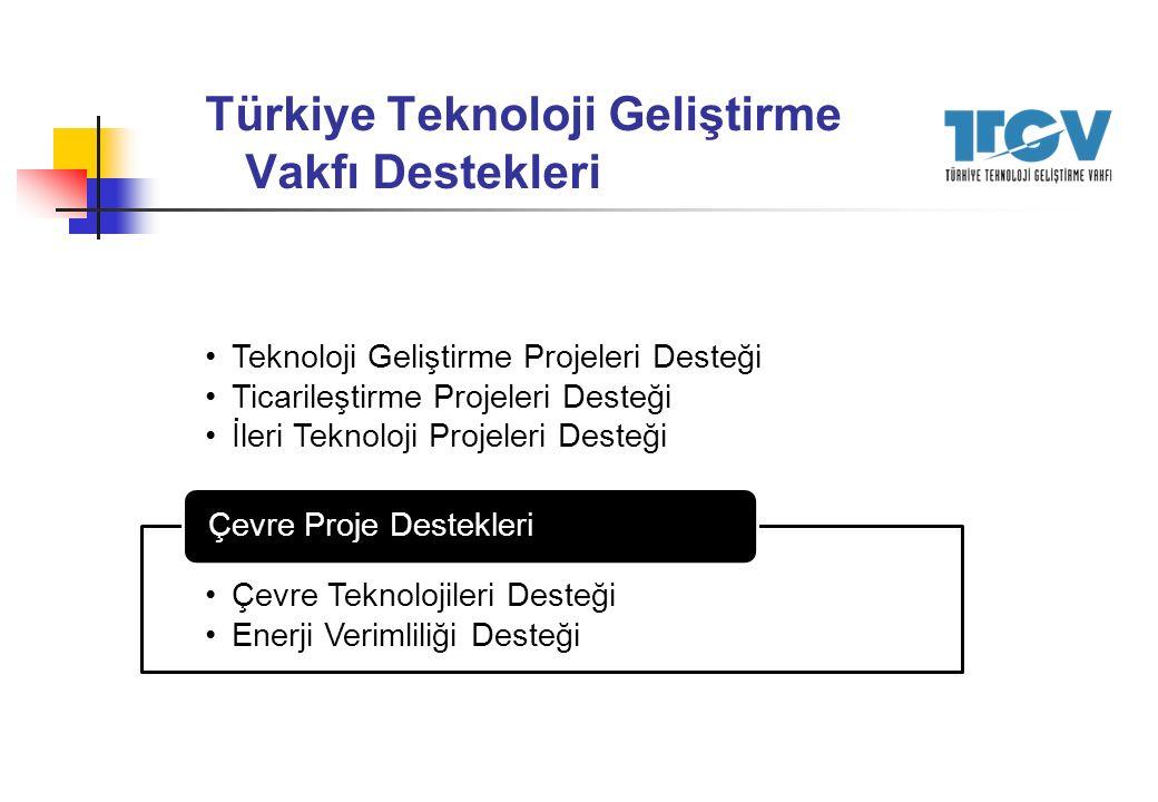 Türkiye Teknoloji Geliştirme Vakfı Destekleri