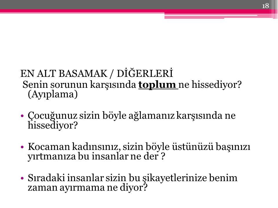 EN ALT BASAMAK / DİĞERLERİ