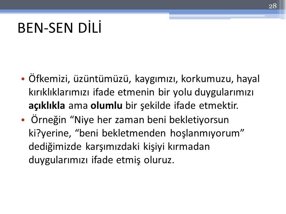 BEN-SEN DİLİ