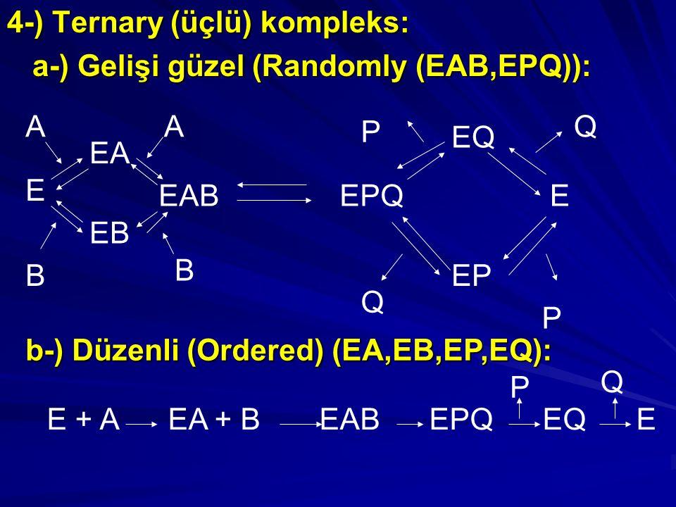 4-) Ternary (üçlü) kompleks: