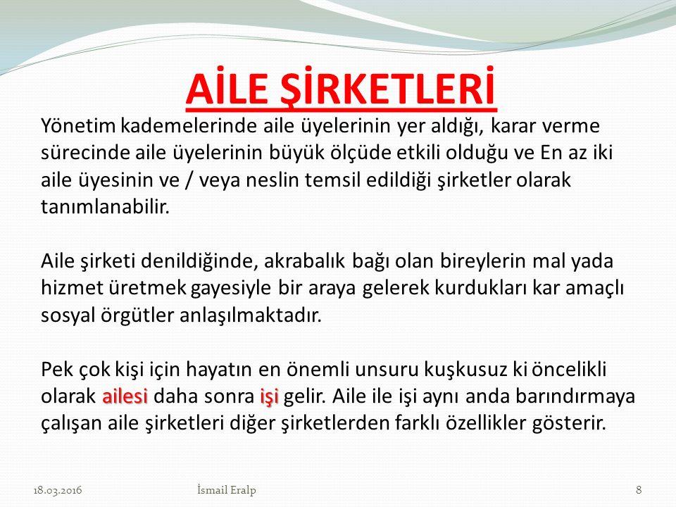 AİLE ŞİRKETLERİ