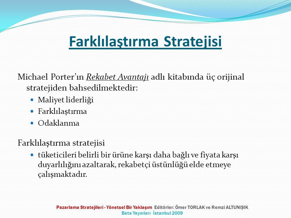 Farklılaştırma Stratejisi
