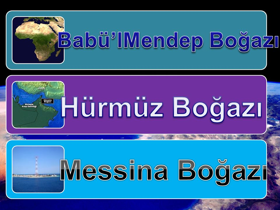 Hürmüz Boğazı Messina Boğazı