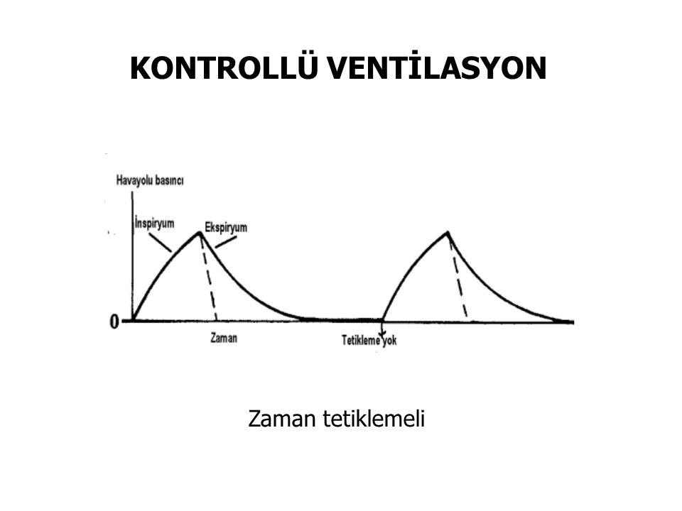 KONTROLLÜ VENTİLASYON