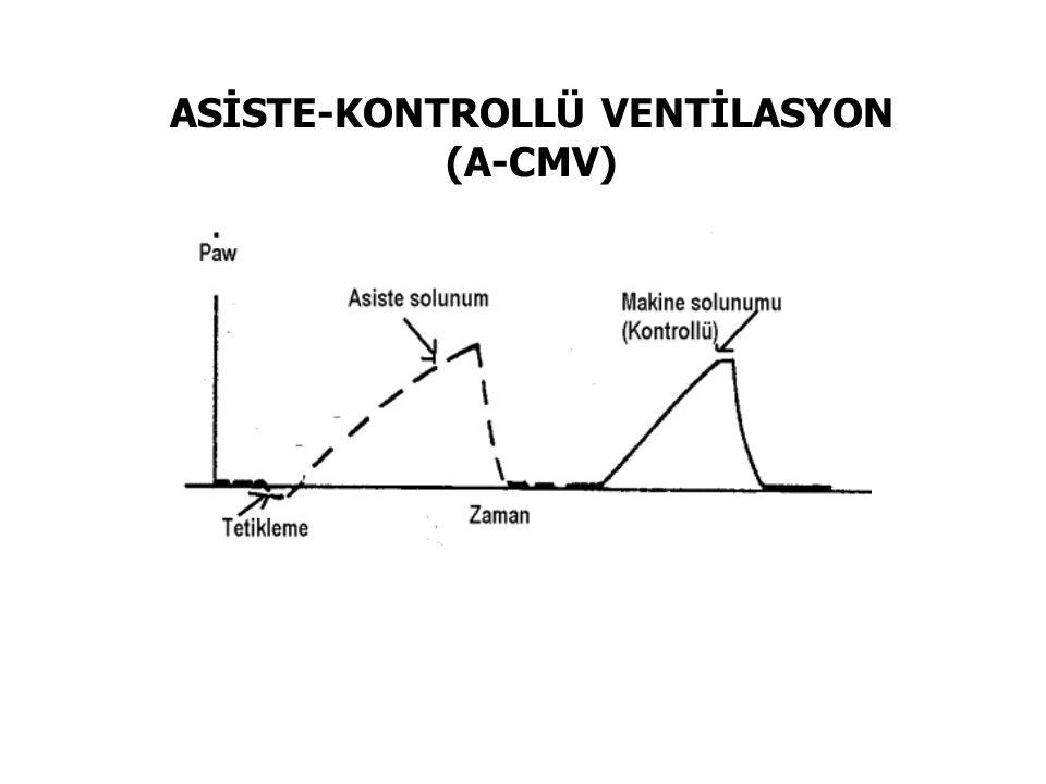 ASİSTE-KONTROLLÜ VENTİLASYON (A-CMV)