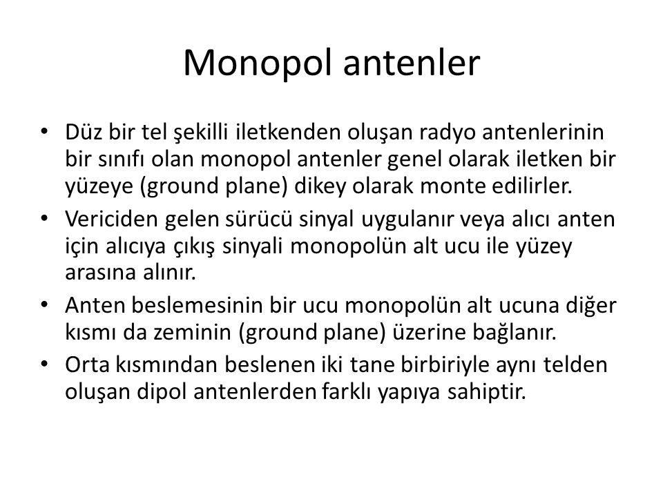 Monopol antenler