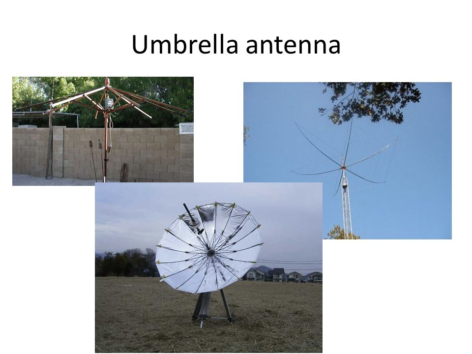 Umbrella antenna