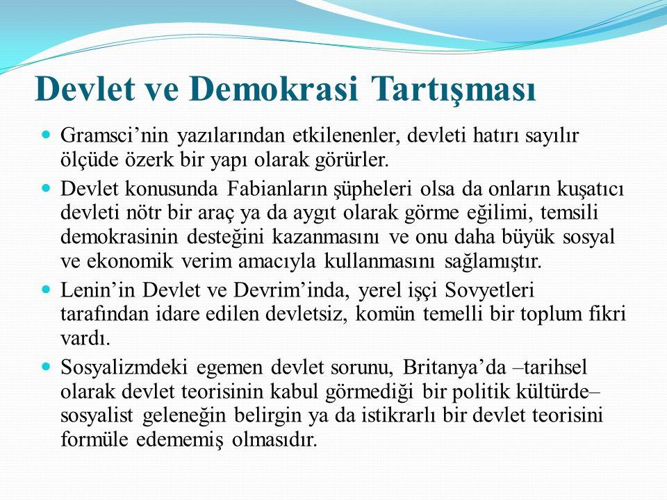 Devlet ve Demokrasi Tartışması