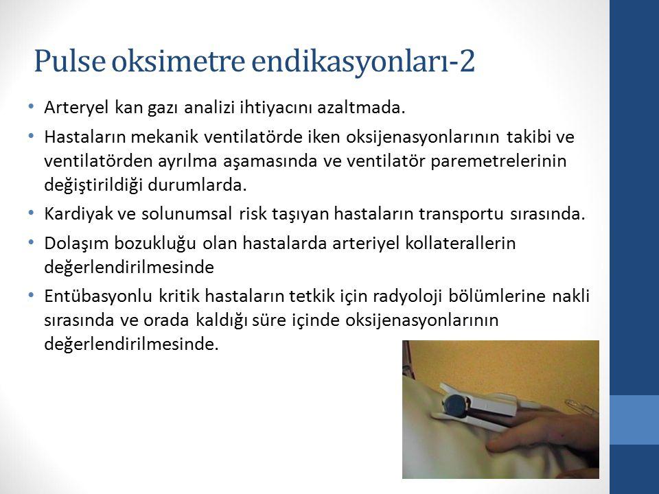 Pulse oksimetre endikasyonları-2