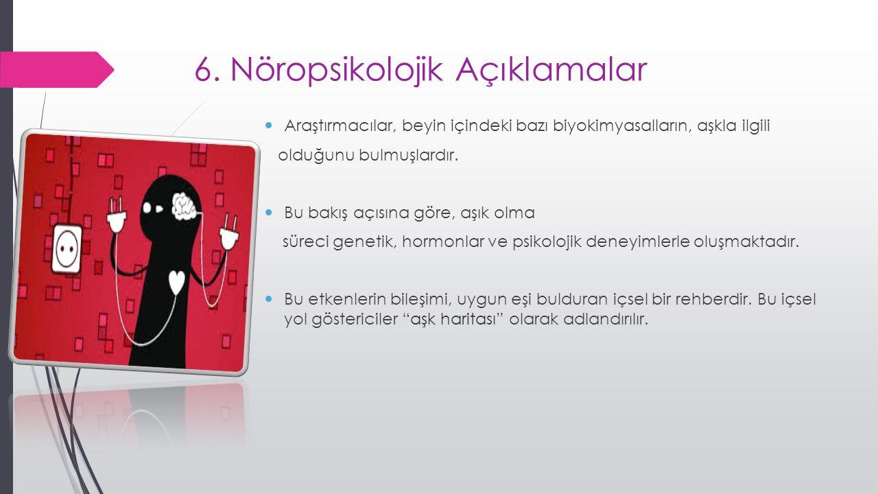 6. Nöropsikolojik Açıklamalar