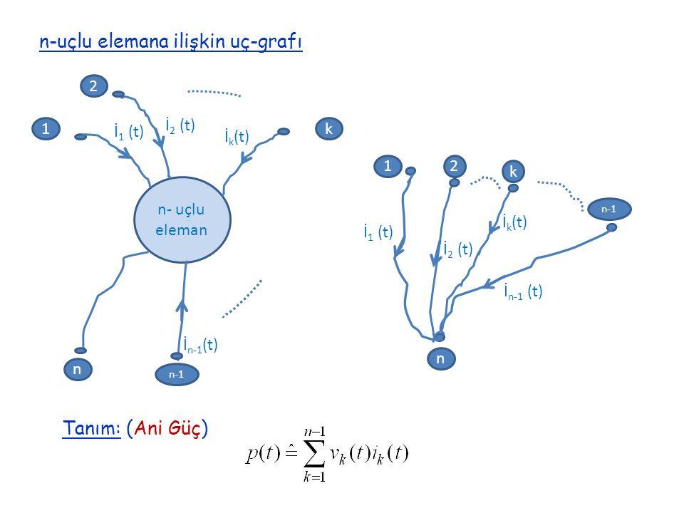 n-uçlu elemana ilişkin uç-grafı