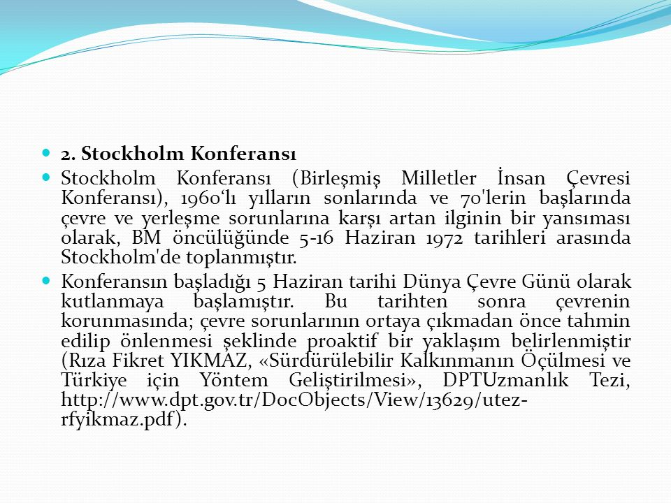 2. Stockholm Konferansı