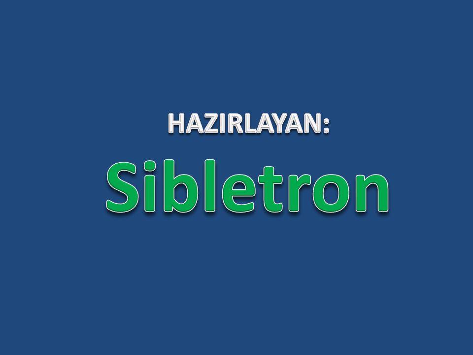 HAZIRLAYAN: Sibletron