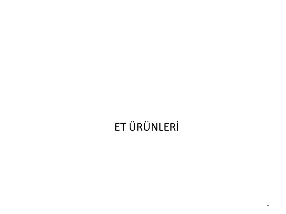 ET ÜRÜNLERİ