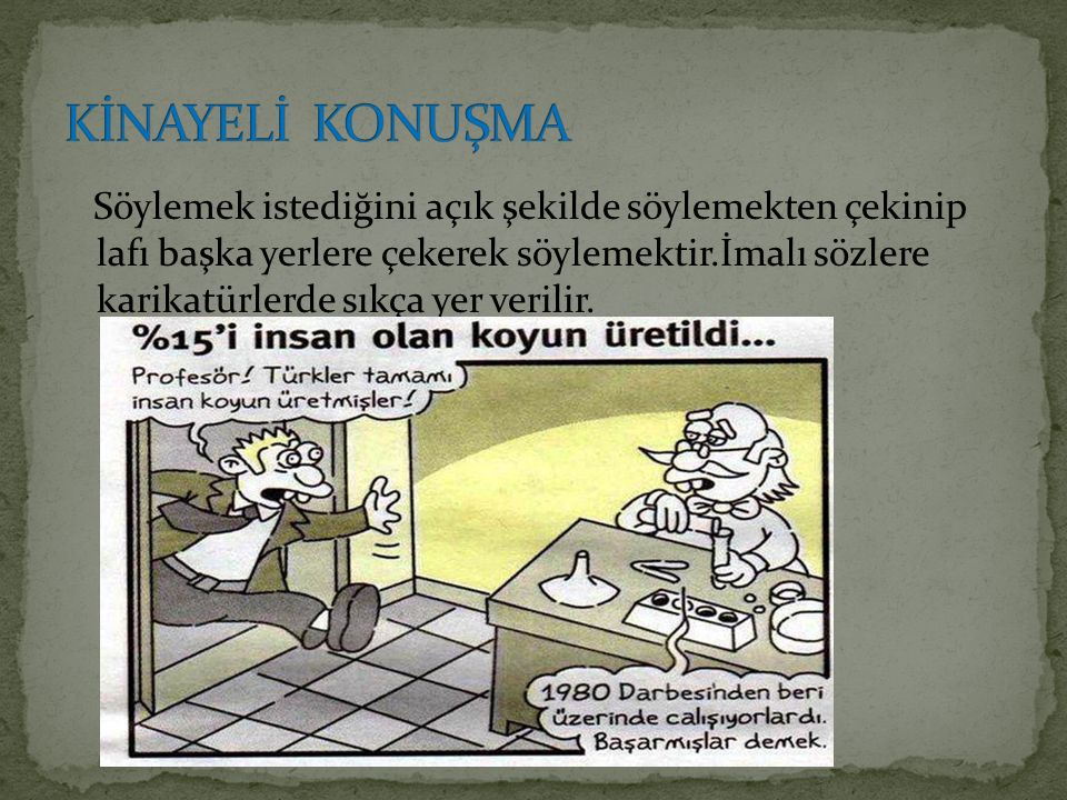 KİNAYELİ KONUŞMA