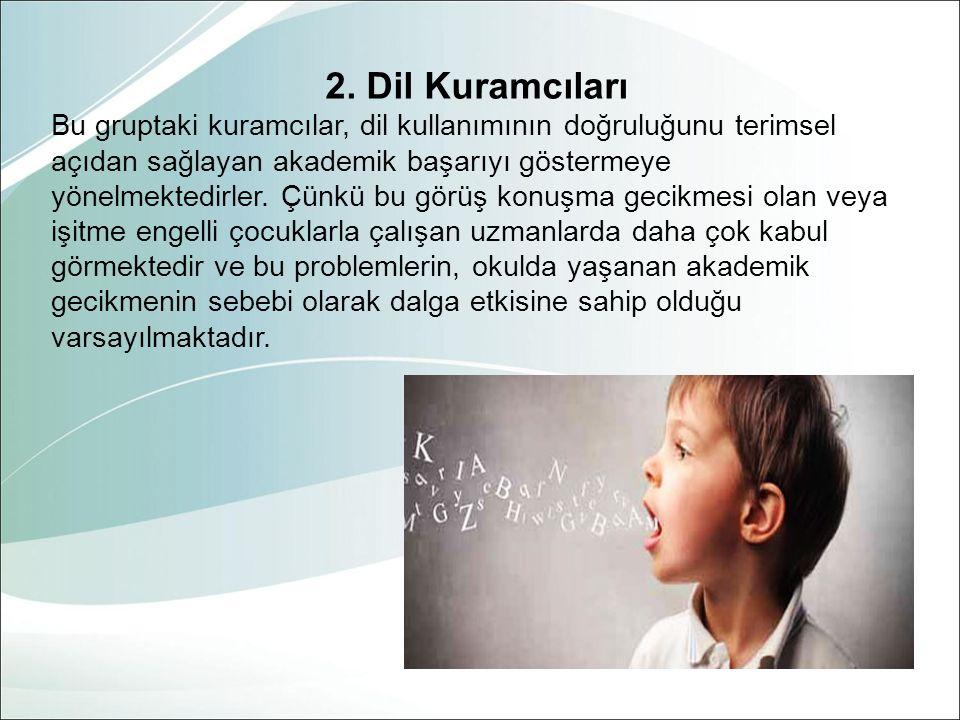 2. Dil Kuramcıları