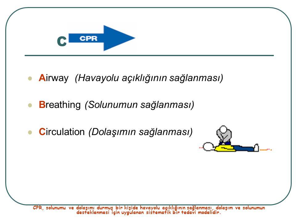 CPR Airway (Havayolu açıklığının sağlanması)