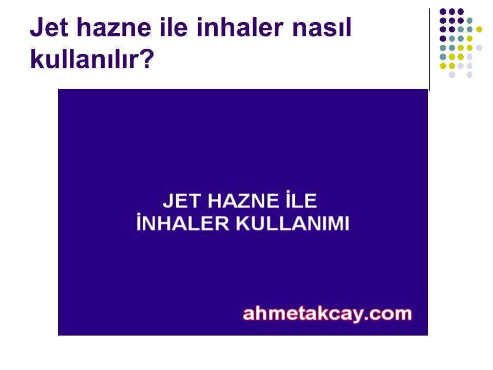 Jet hazne ile inhaler nasıl kullanılır