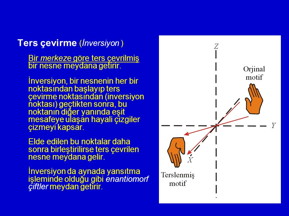 Ters çevirme (İnversiyon )