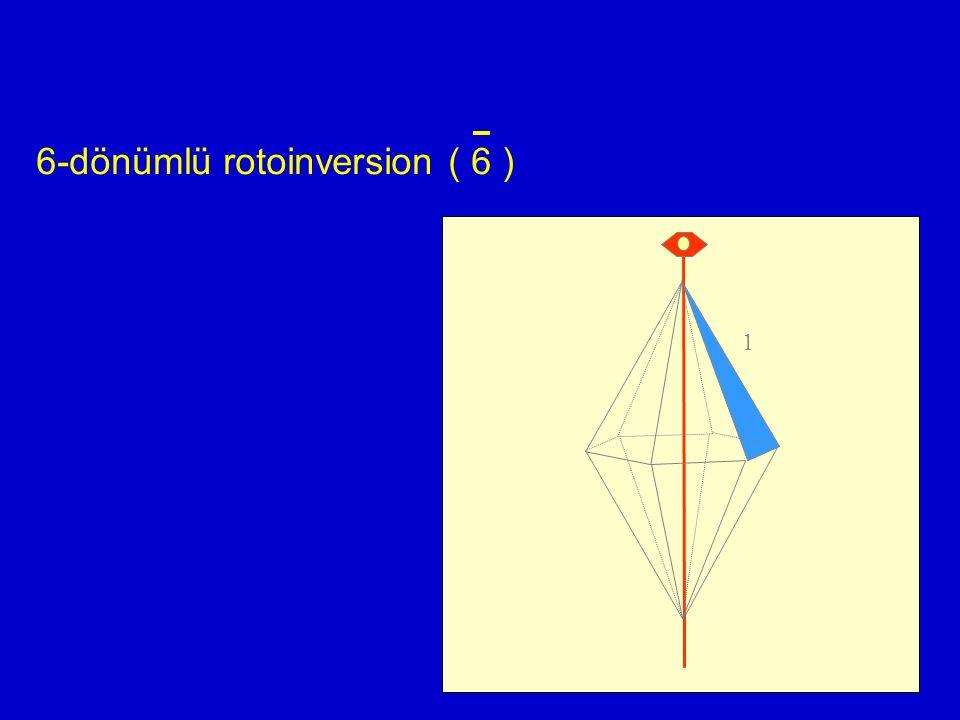 6-dönümlü rotoinversion ( 6 )