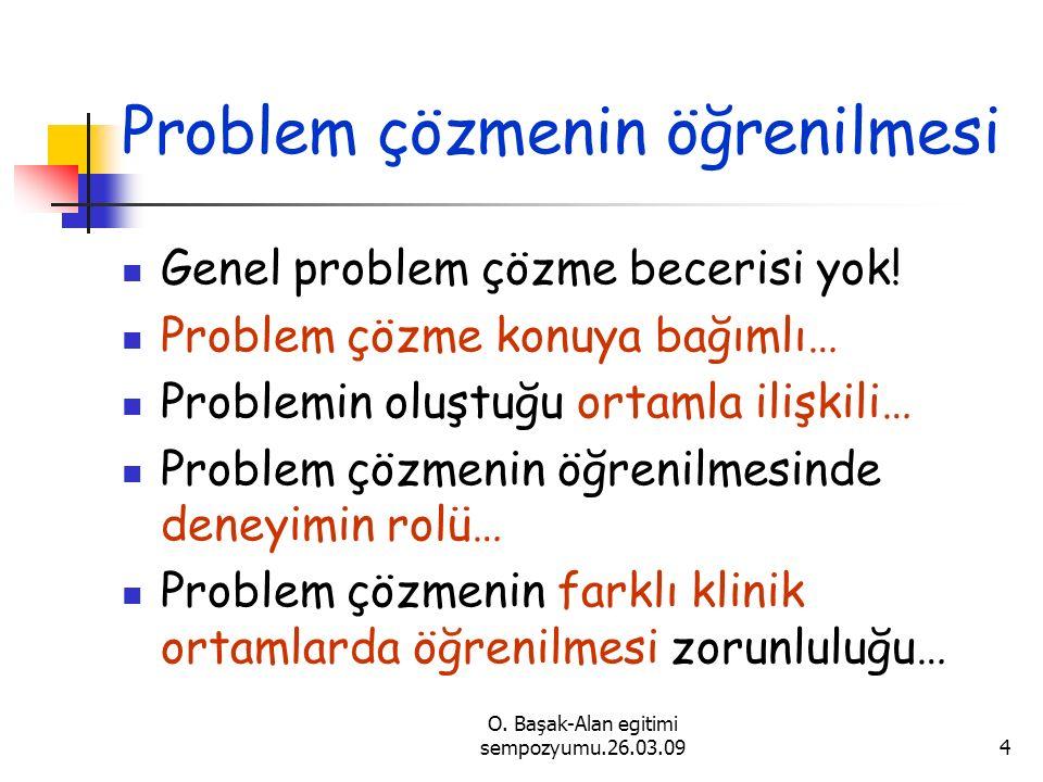 Problem çözmenin öğrenilmesi