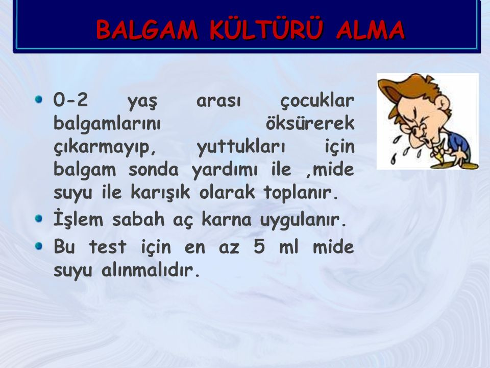 BALGAM KÜLTÜRÜ ALMA