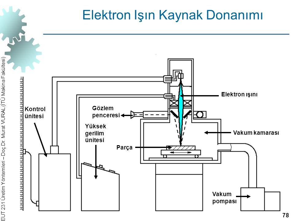 Elektron Işın Kaynak Donanımı