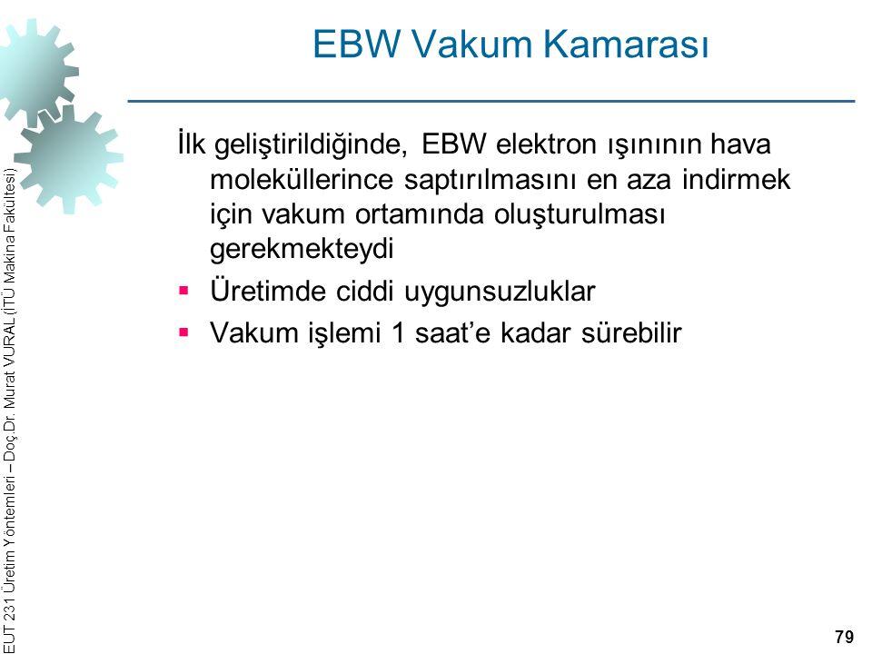 EBW Vakum Kamarası