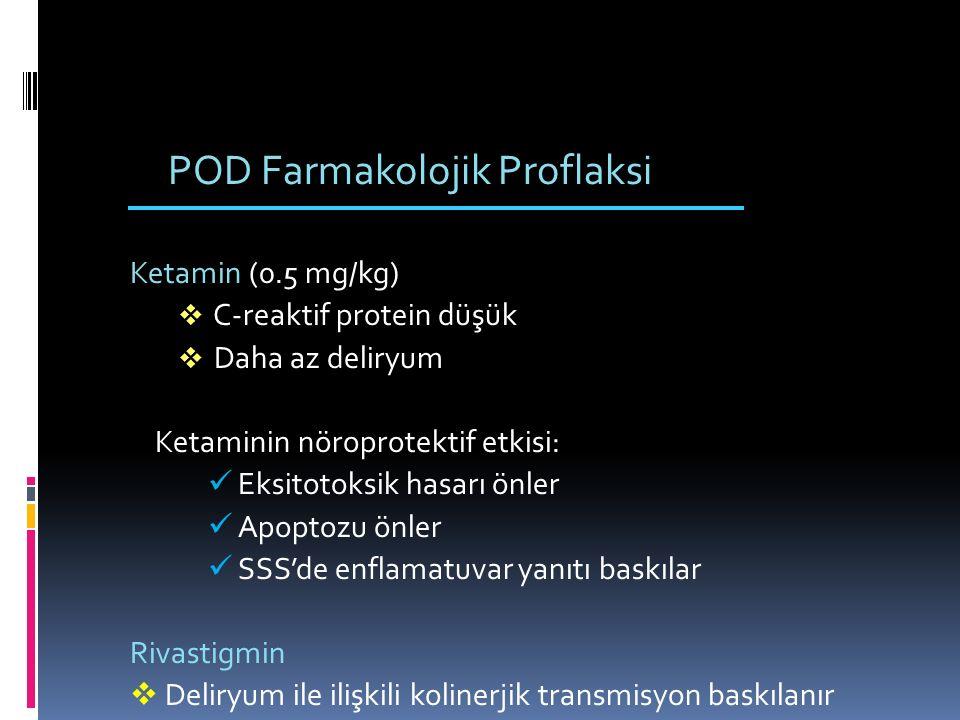 POD Farmakolojik Proflaksi